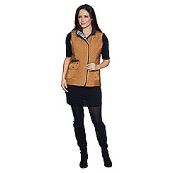 David Barry - Gold ladies gilet