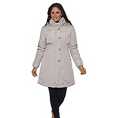 David Barry - Grey ladies padded coat