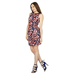 Izabel London - Multicoloured tailored floral patterned mini dress