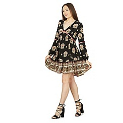 Izabel London - Multicoloured floral print tunic dress