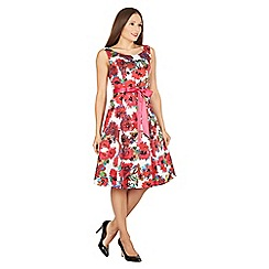 Solo - Pink Sophia floral dress