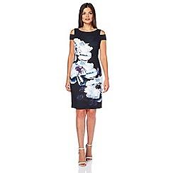 Roman Originals - Blue peony print dress