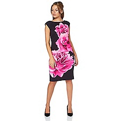 Roman Originals - 'Cerise' floral scuba dress