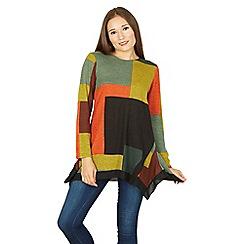 Tenki - Multicoloured full sleeve block print top