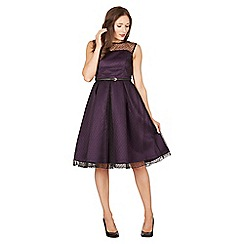Lindy Bop - Purple aleena russian occasion dress