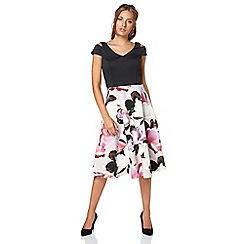 Roman Originals - Pink print skirt dress