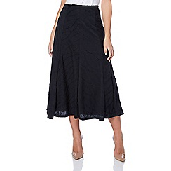 Roman Originals - Black textured skirt