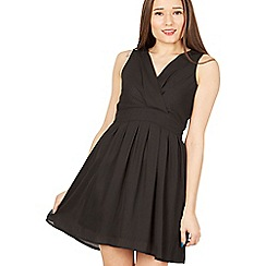 Tenki - Black tie back dress
