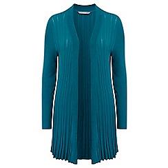 Lavitta - Turquoise small rib cardigan