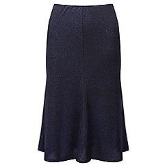 Lavitta - Blue glitter flippy pull on skirt