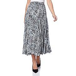 Roman Originals - Grey burnout skirt
