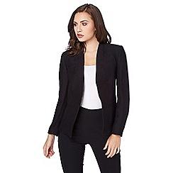 Roman Originals - Black pleat jacket