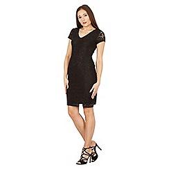 Izabel London - Black lace v neck dress