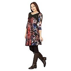 Izabel London - Multicoloured patch style dress