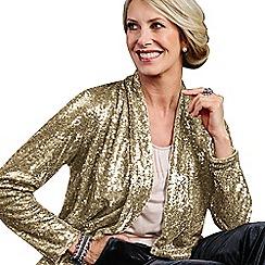 Lavitta - Gold sequin jacket