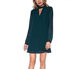 Amalie & Amber - Green chocker dress