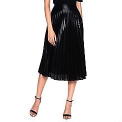 Amalie & Amber - Black pleated skirt