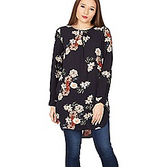 Izabel London - Multicoloured floral print tunic top