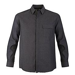 Bar Harbour - Grey flap pocket casual shirt