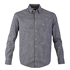 Bar Harbour - Blue gingham check casual shirt