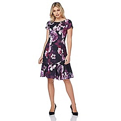 Roman Originals - Floral flippy hem dress