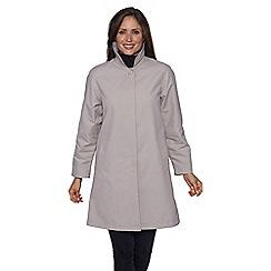 David Barry - Grey classic rain jacket