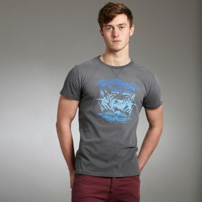 Grey Vintage New Zealand Rugby T-Shirt