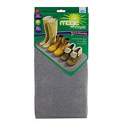 JML - JML Magic Carpet Boot and Shoe Mat Grey