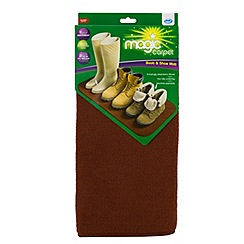 JML - JML Magic Carpet Boot and Shoe Mat Brown