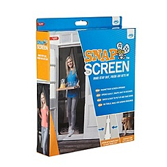 JML - JML Snap Screen white magnetic door screen