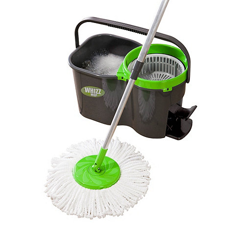 JML - Whizz Mop pedal operated bucket spinner and mop