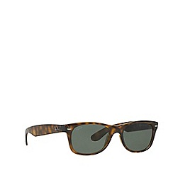 Ray-Ban - Brown new wayfarer square RB2132 sunglasses