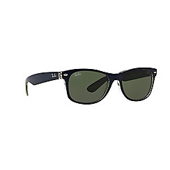 Ray-Ban - Blue square 'RB2132 new wayfarer' sunglasses