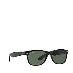Ray-Ban - Black 'New Wayfarer' RB2132 sunglasses