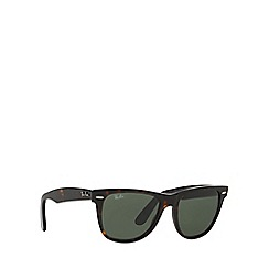 Ray-Ban - Brown wayfarer square RB2140 sunglasses