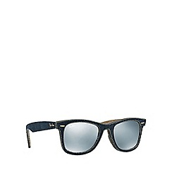 Ray-Ban - Blue square 'RB2140 wayfarer' sunglasses
