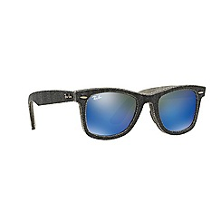 Ray-Ban - Black square 'RB2140 wayfarer' sunglasses
