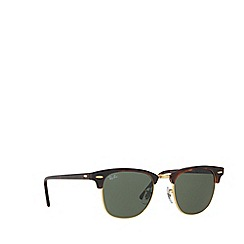 Ray-Ban - Brown clubmaster square RB3016 sunglasses