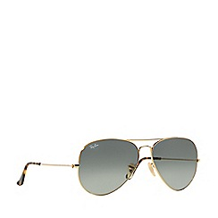 Ray-Ban - Gold 'Aviator' RB3025 pilot sunglasses