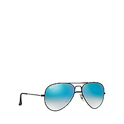 Ray-Ban - Black pilot RB3025 sunglasses