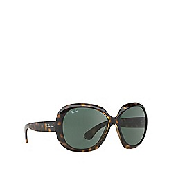Ray-Ban - Brown 'Jackie Ohh' butterfly RB4098 sunglasses