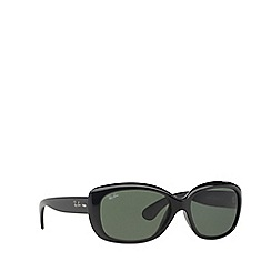 Ray-Ban - Black 'Jackie Ohh' rectangle RB4101 sunglasses