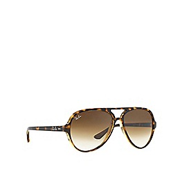 Ray-Ban - Brown  aviator RB4125 sunglasses