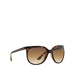Ray-Ban - Light havana 'Cats 1000' cat eye RB4126 sunglasses