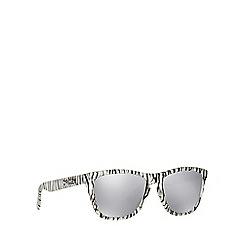 Oakley - White 'Frogskins' OO9013 square sunglasses