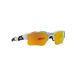 Oakley - White irregular '0OO9009' sunglasses