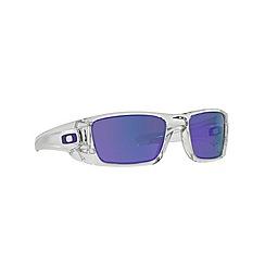 Oakley - White rectangle '0OO9096' sunglasses