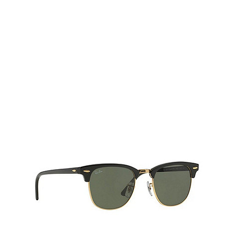 Ray-Ban - Black +Clubmaster+ RB3016 sunglasses