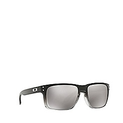 Oakley - Dark grey 'Holbrook' square OO9102 sunglasses