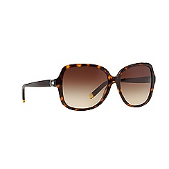 DKNY - Dark tortoise square DY4078B sunglasses